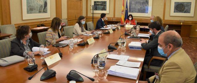 Reunión del Patronato de la Fundación Estatal Salud, Infancia y Bienestar FSP. (Foto. Ministerio de Sanidad)