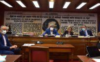 Mesa de la Comisión de Sanidad del Senado (Foto: @Senadoesp)