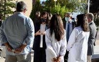 La presidenta del Gobierno de La Rioja, Concha Andreu, visita la Fundación Hospital Calahorra (Foto: Gobierno de La Rioja)