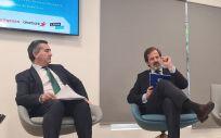 Carlos Rus, presidente de Aspe, durante el Congreso. (Foto: @ASPE_SPrivada)