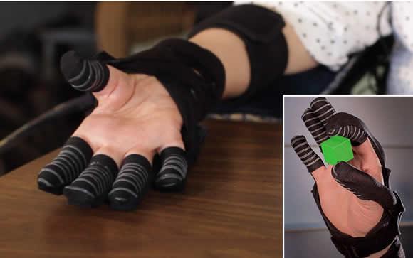 Un guante robótico para personas con ELA y distrofia muscular