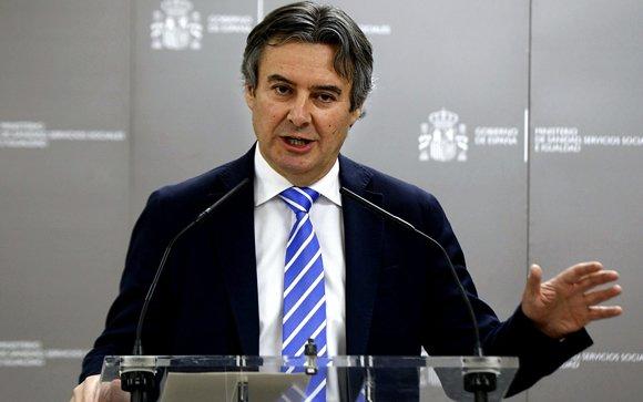 Rubén Moreno, secretario general de Sanidad