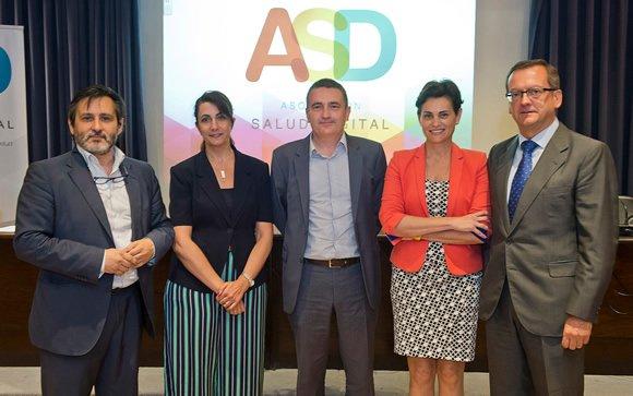 De izqda. a dcha.: Julio Mayol, Francisca García Lizana, Jaume Raventós, María Ángeles Medina y Jaime del Barrio.