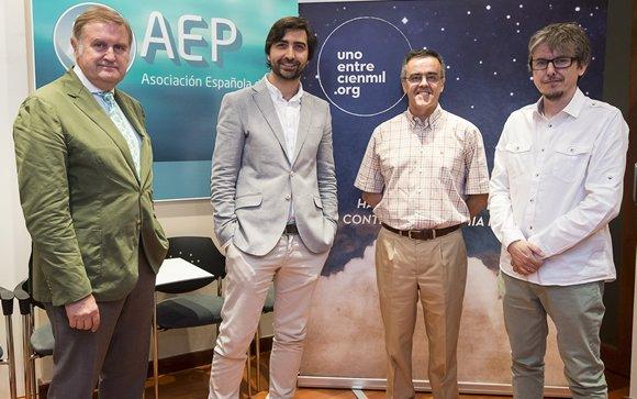 De izq. a drcha.: Luis Madero, Antonio Pérez-Martínez, Manuel Ramírez Orellana y José Carnero