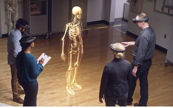 HoloLens, un sistema de representación 3D de la anatomía humana