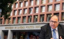 Carlos Moreno, director general de Ordenación Profesional del Ministerio de Sanidad.