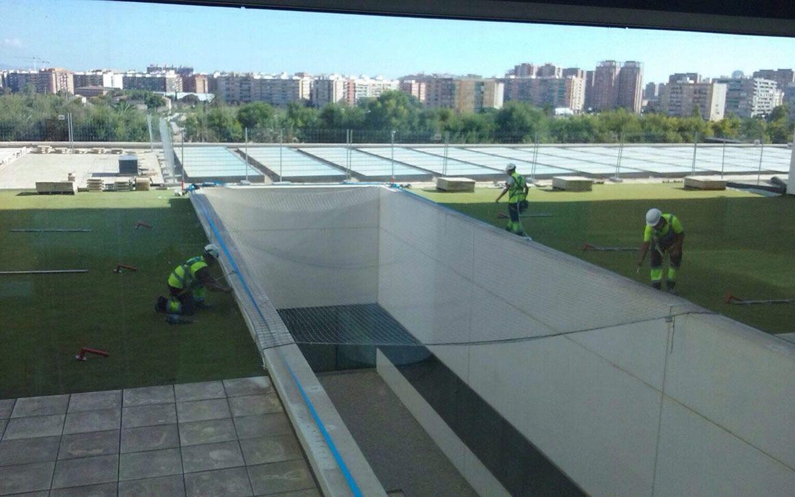 Comienzan las obras del jard n infantil en el hospital la - Hospital nueva fe valencia ...