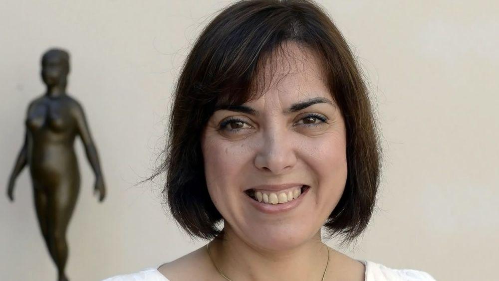 Encarna Guillén, presidenta en funciones de la AEGH (Foto. Encarna Guillén)