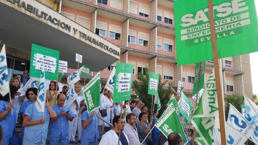 """Satse no ve una """"voluntad real"""" de  Sanidad y las autonomías por mejorar el empleo sanitario"""