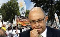 El ministro de Hacienda, Cristóbal Montoro, propone ligar el aumento salarial al incremento anual del PIB.