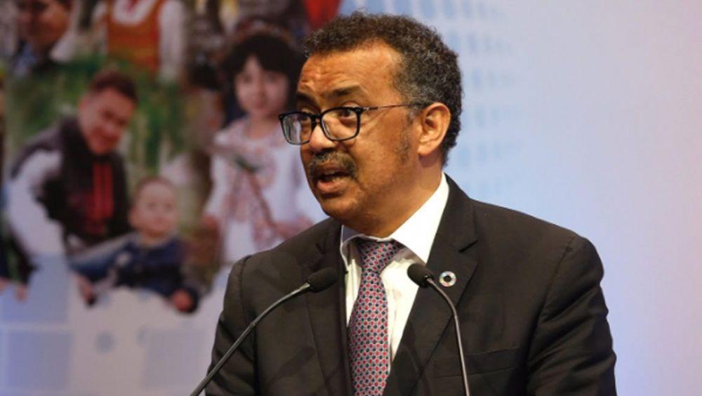 Dr. Tedros Adhanom, director general de la OMS.