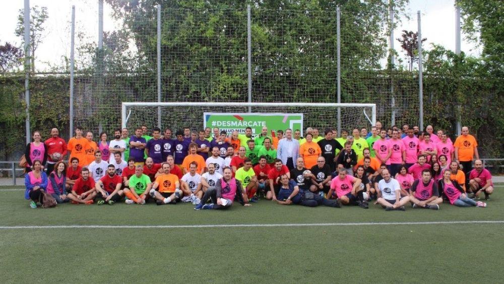 Fútbol solidario para visibilizar la salud mental
