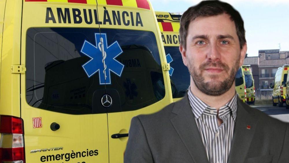 Las ambulancias catalanas se rebelan contra Comín en pleno debate independentista
