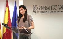 Carmen Montón, consejera de Sanidad de la Generalitat Valenciana.