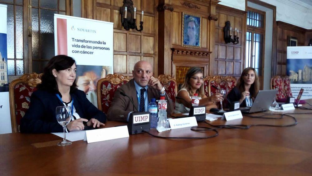 De izqda. a der.: Cristina Grávalos, Rodrígo Gutiérrez, Ana Tejerina y Nuria Ramírez de Castro.