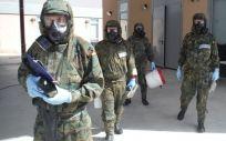 El 80% de los sanitarios militares no sabría responder con eficacia a un ataque químico