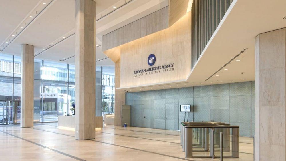 Sede de la Agencia Europea del Medicamento (EMA), en Londres