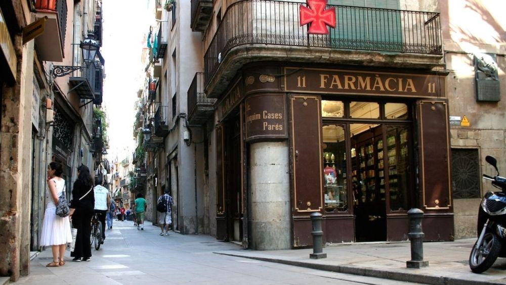 Imagen de una farmacia en Cataluña.