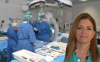 Dolores Escudero es especialista en Medicina Intensiva