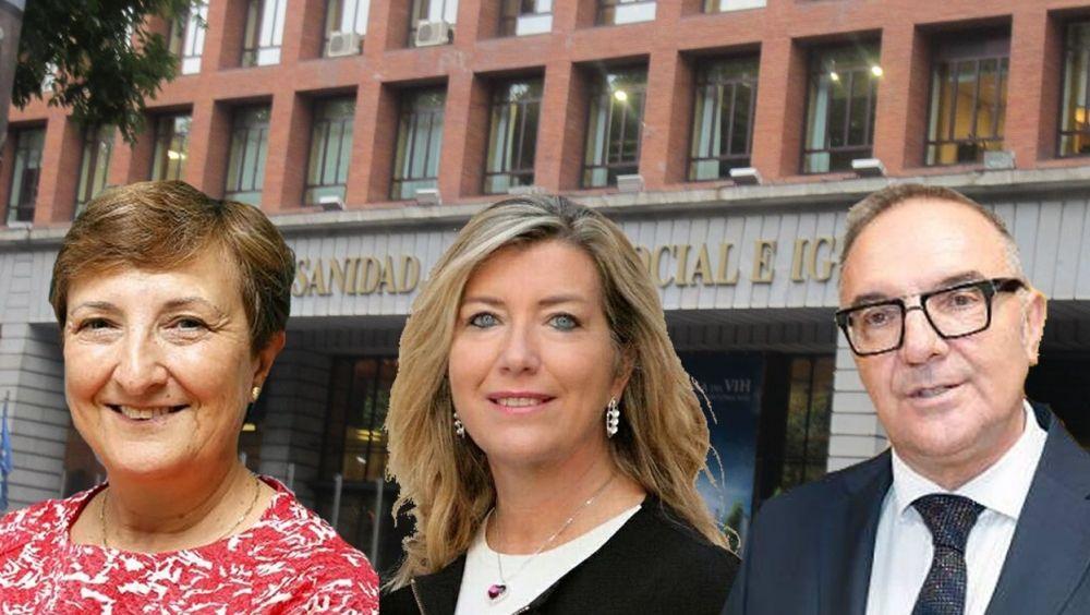 Los titulares de Sanidad María Luisa Real, Patricia Gómez y José Manuel Baltar han enviado una carta al Ministerio.