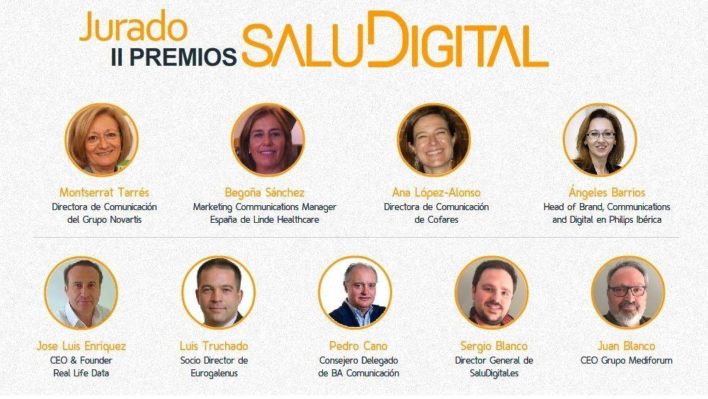Jurado II Premios SaluDigital