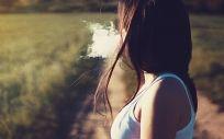 Una mujer fumadora