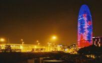 La Torre Glories, en Barcelona, el lugar en el que se alojaría la EMA