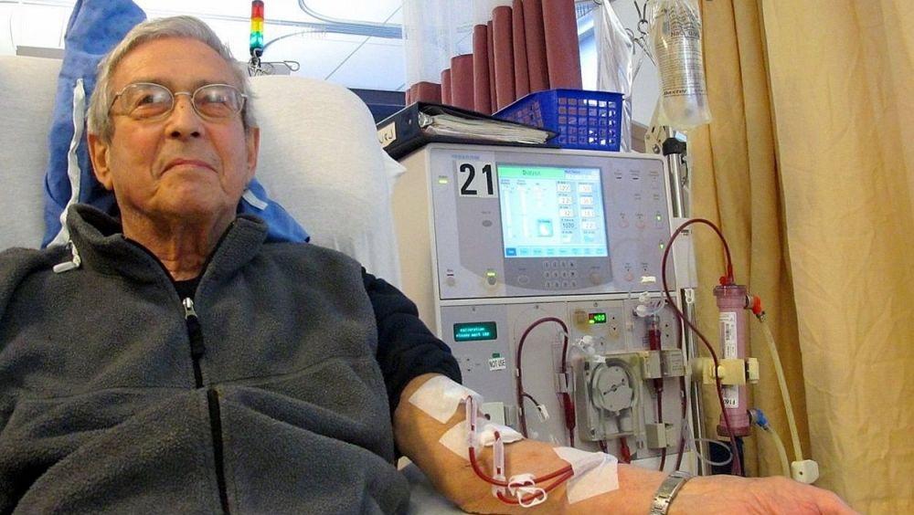 Un paciente renal en diálisis (Foto. ConSalud)