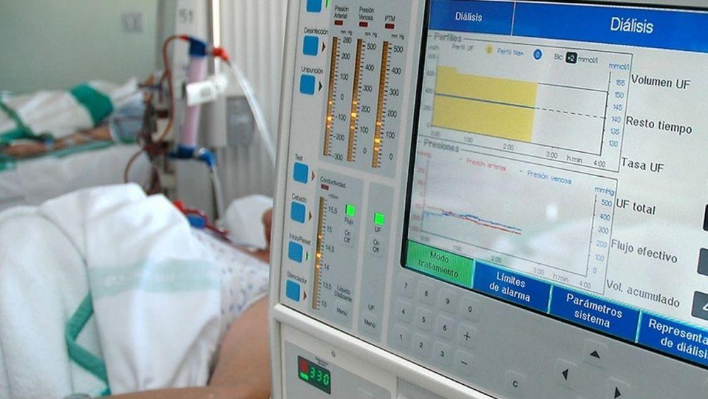 Máquina de diálisis para ERC