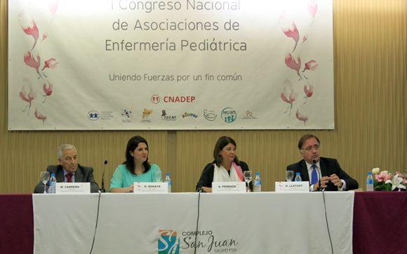 De izq. a drcha.: Miguel Carrero, Esther Donate, Ana Pedraza y Rafael Lletget