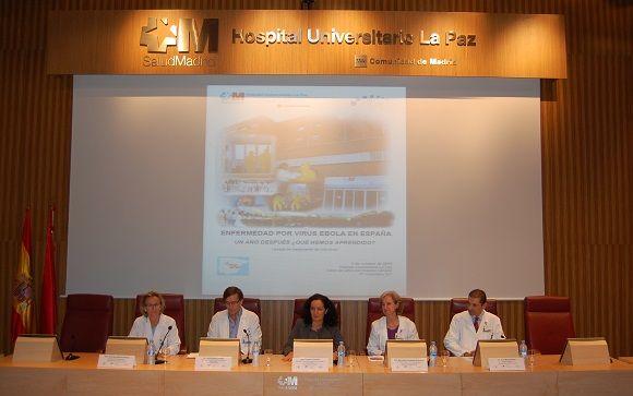 Presentación del estudio en el Hospital Universitario La Paz