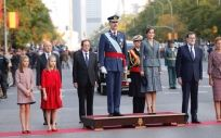 La recepción en el Palacio Real ha tenido lugar después del tradicional desfile de las Fuerzas Armadas en Madrid.