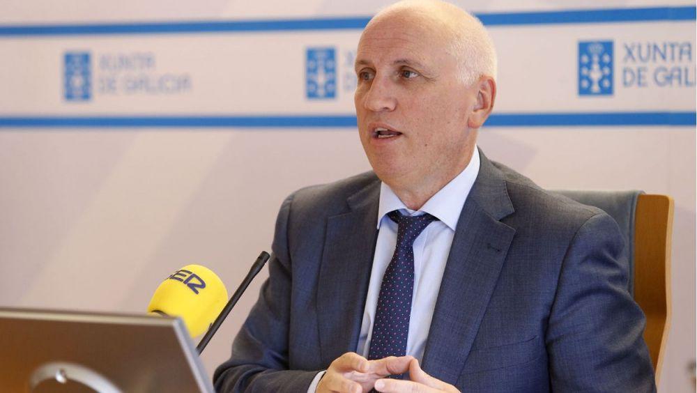 El gerente del Servicio Gallego de Salud, Antonio Fernández Campa
