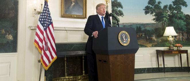 El presidente de EE.UU.,Donald Trump