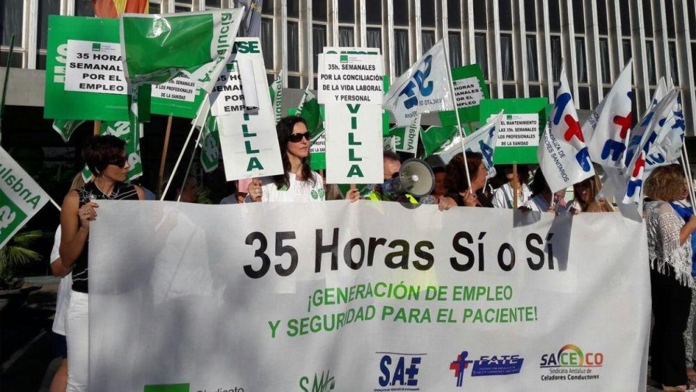 Andalucía estableció la jornada laboral de 35 horas semanales a principios de 2017