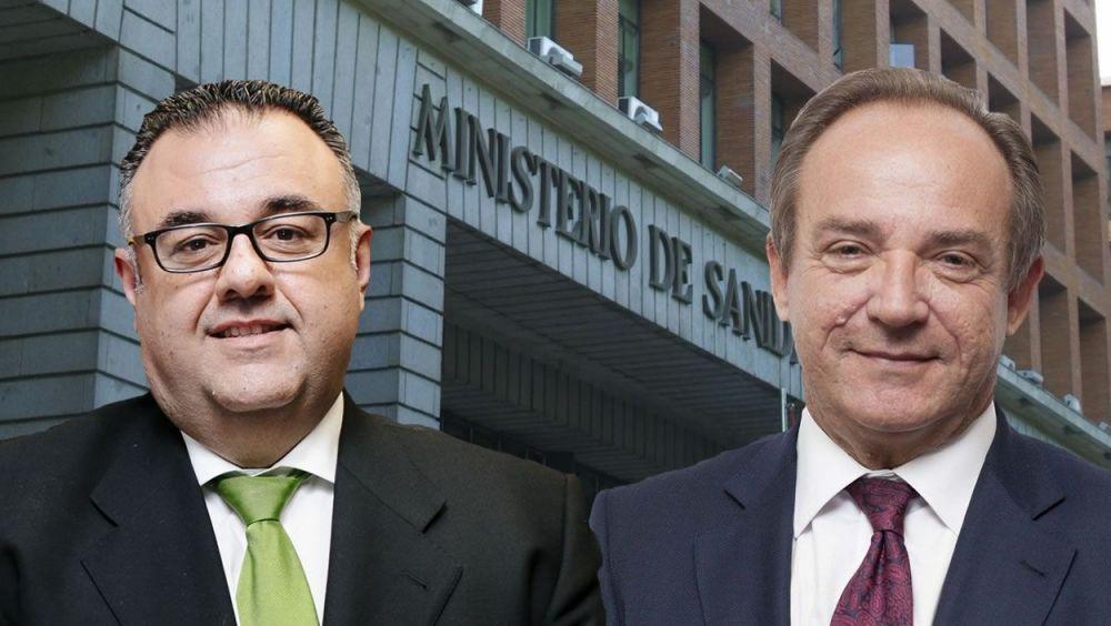 Conrado Domínguez y José Javier Castrodeza