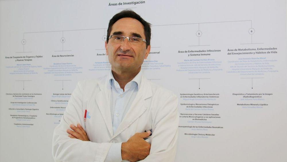 El investigador Benedicto Crespo Facorro