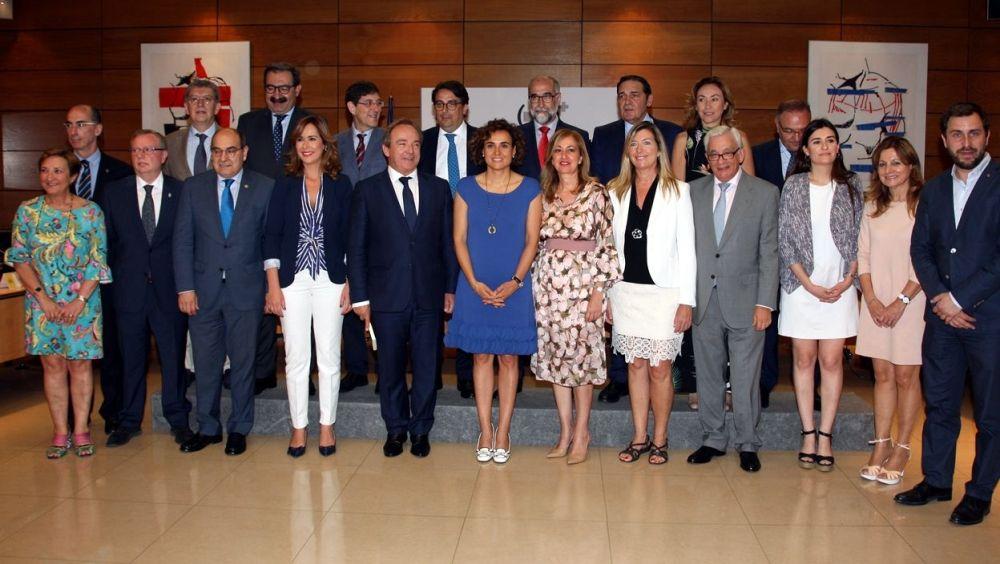 Imagen del último Consejo Interterritorial celebrado en el mes de junio en la sede del Ministerio de Sanidad.