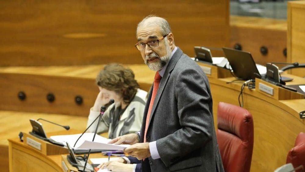 Fernando Domínguez Cunchillos, consejero de Salud de Navarra