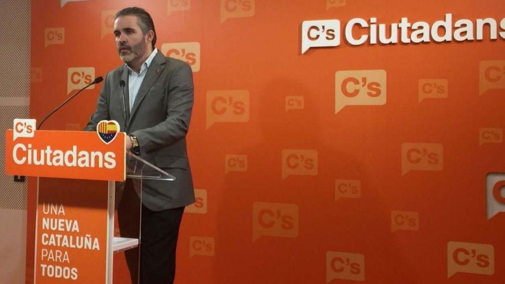 Jorge Soler, portavoz de Sanidad de Ciudadanos en el Parlament de Cataluña