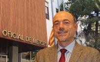 José Vilaplana es presidente del Consejo de Colegio de Médicos de Cataluña