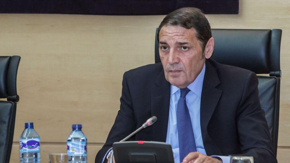 El consejero de Sanidad de Castilla y León, Antonio María Sáez Aguado