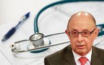 Cristóbal Montoro, ministro de Hacienda, trasladó a Europa que en 2018 el gasto público sanitario será del 5,8% sobre el PIB.