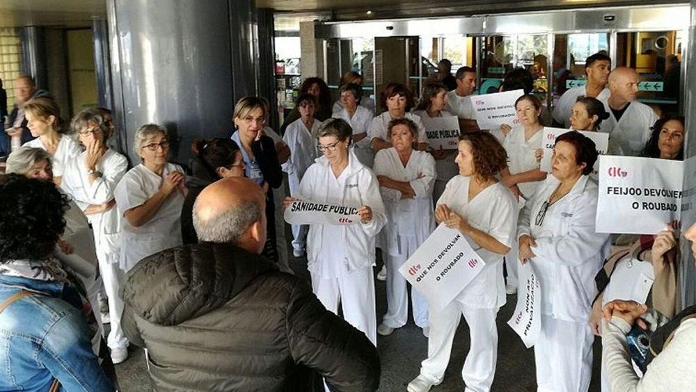 Facultativos del Sergas en huelgas anteriores