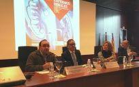 Rueda de prensa de los miembros de Salud de La Rioja y Alcer