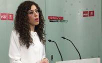 La portavoz adjunta de Sanidad del Grupo Parlamentario Socialista, Miriam Alconchel