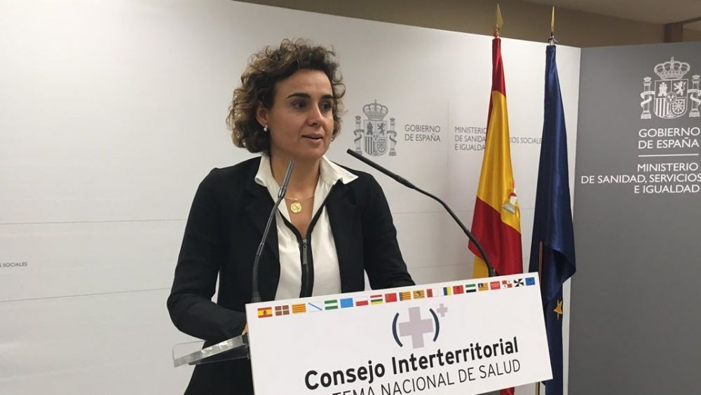 Dolors Montserrat, ministra de Sanidad, tras el Consejo Interterritorial