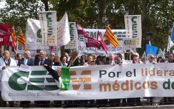 ¿Cuáles han sido las principales movilizaciones de los sanitarios en 2015?