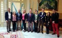 Parte del equipo de la Consejería de Salud de Baleares, con la consejera Patricia Gómez entre ellos.