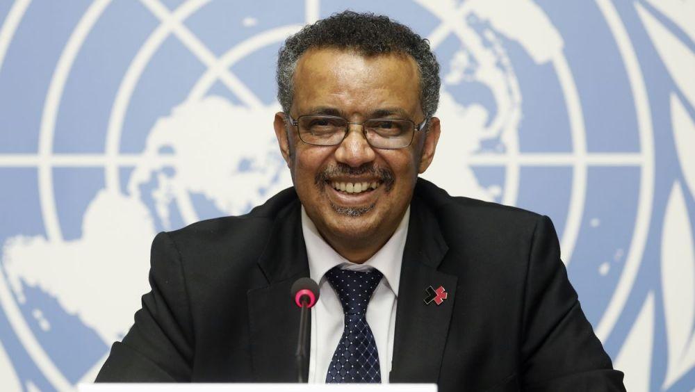El Dr. Tedros Adhanom, director general de la OMS.